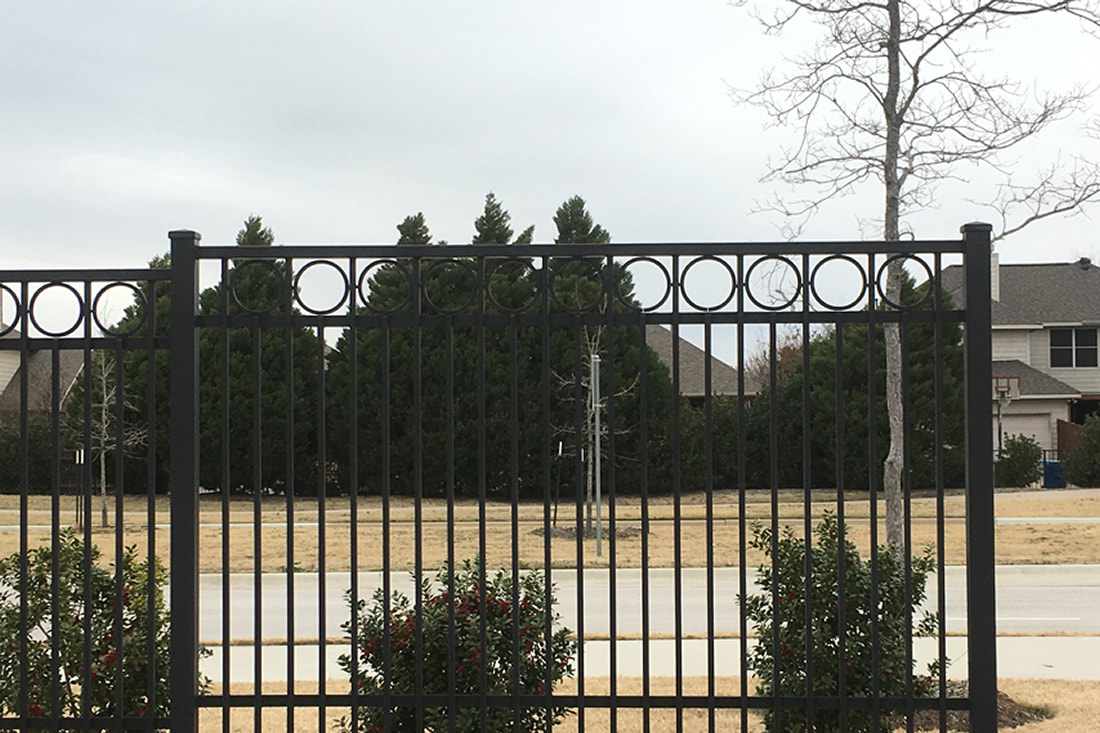 HOA Wrought Iron Fence Wylie